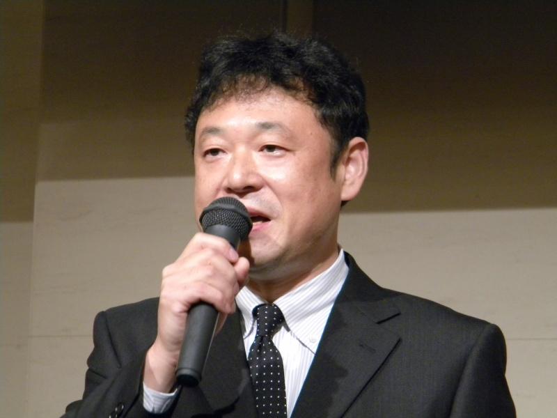 ジャストシステム代表取締役社長の福良伴昭氏