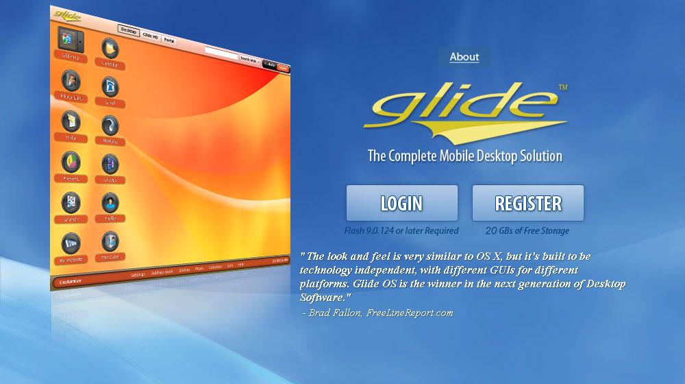 GlideOSのサイト