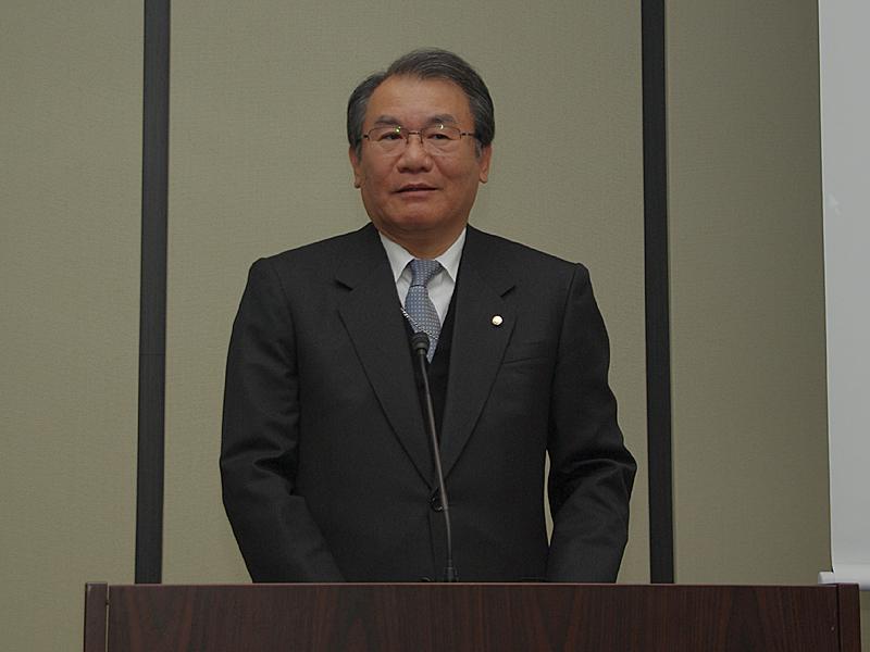 日本経済新聞社の喜多社長