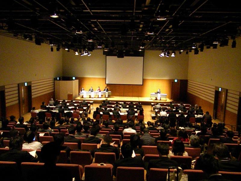 「HOSTING-PRO 2010」の講演会場