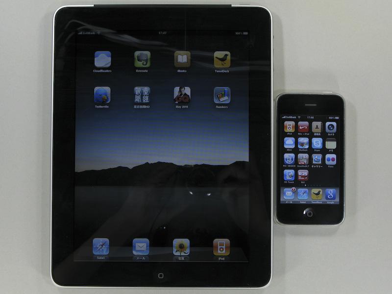 iPad Wi-Fi+3GとiPhone
