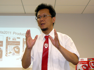G Data Software株式会社のJag山本代表取締役社長