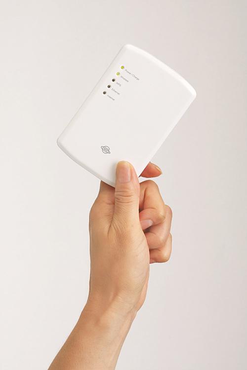無線LANモバイルルーター「CQW-MRB」