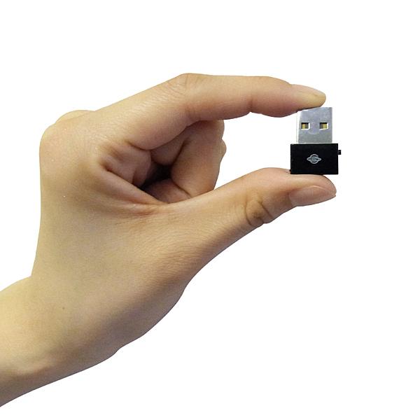 USB接続型無線LAN子機「GW-USNano-M」