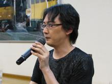 電子書籍サイト「パブー」を運営する株式会社paperboy&co.取締役副社長の吉田健吾氏も、対談に参加した