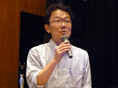 日本ユニセフ協会広報室長の中井裕真氏