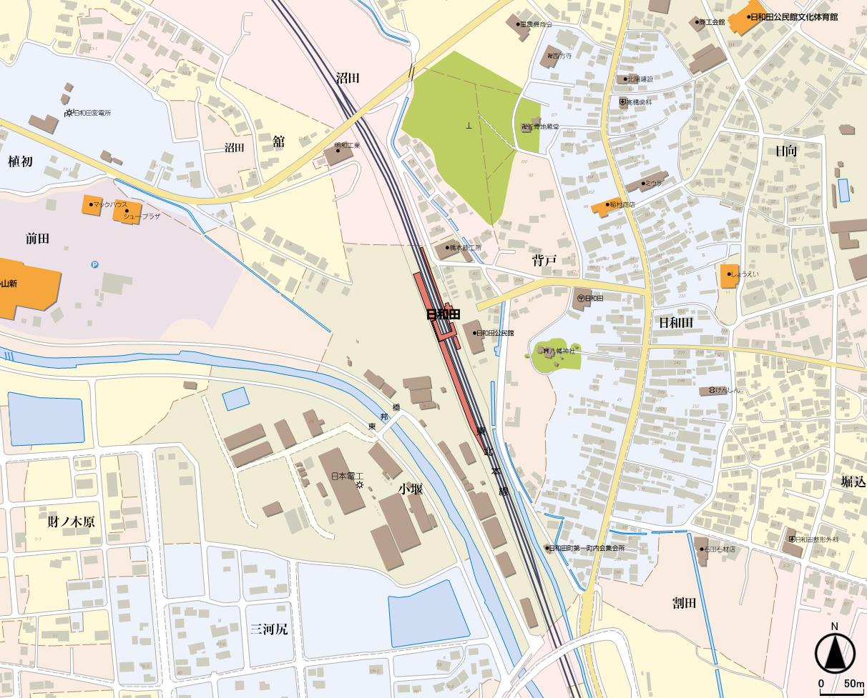 日和田駅(SV5)