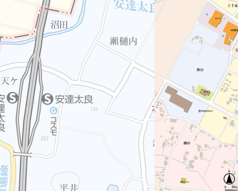 東北道・安達太良SA(SV5)