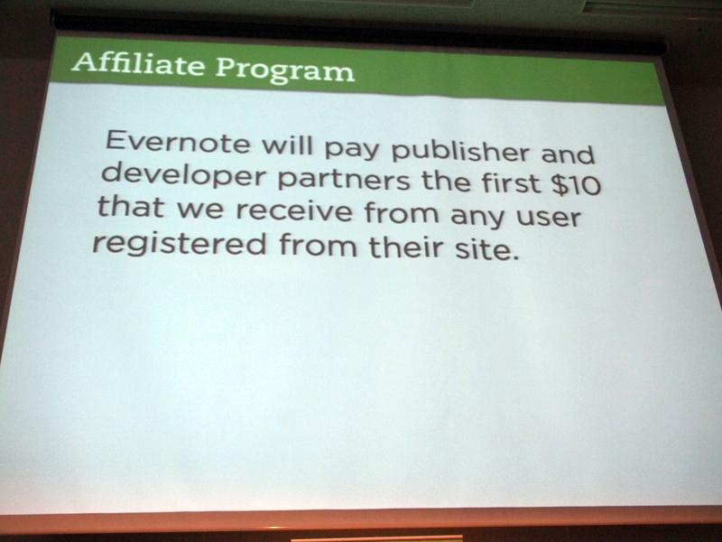 登録したユーザーからの最初の10ドルを支払うアフィリエイトプログラム
