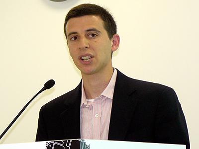 米Google製品管理部門ディレクターのニック・フォックス氏