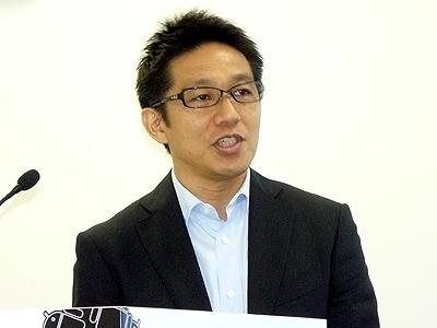 グーグル執行役員オンラインビジネスソリューション本部長の王子田克樹氏