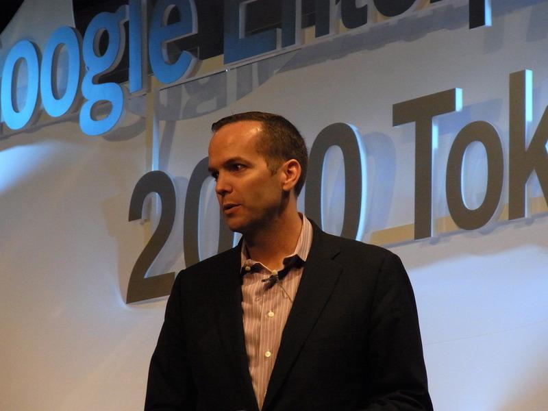 Googleエンタープライズ社長 デイヴ・ジルアード氏