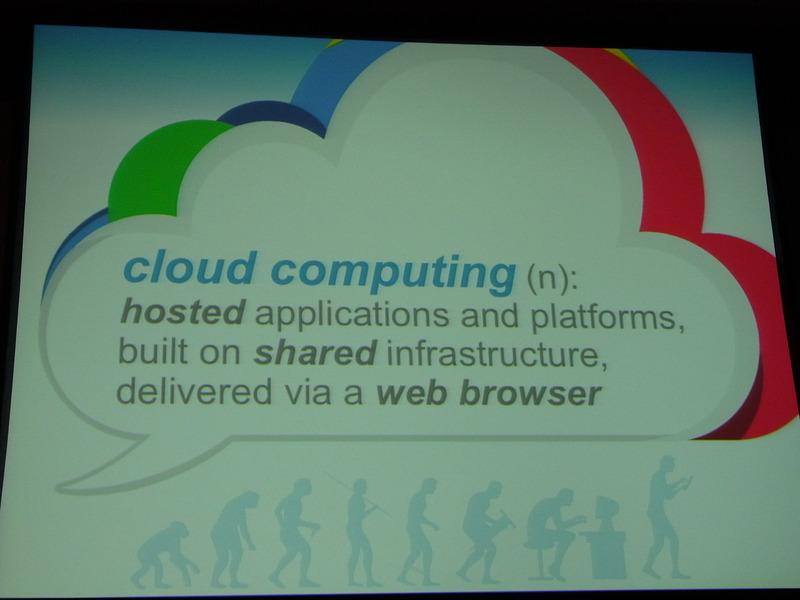Googleによる「クラウドコンピューティング」の定義