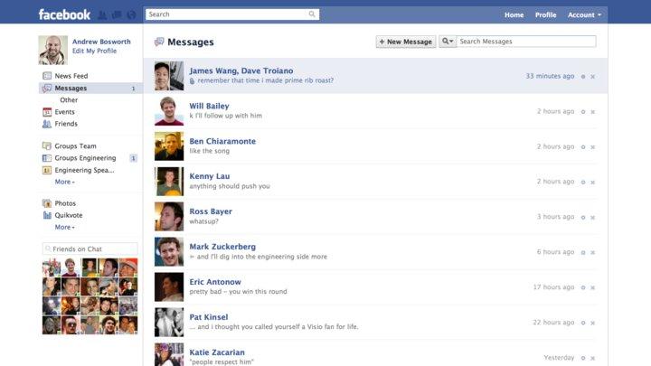 「Messages」の画面