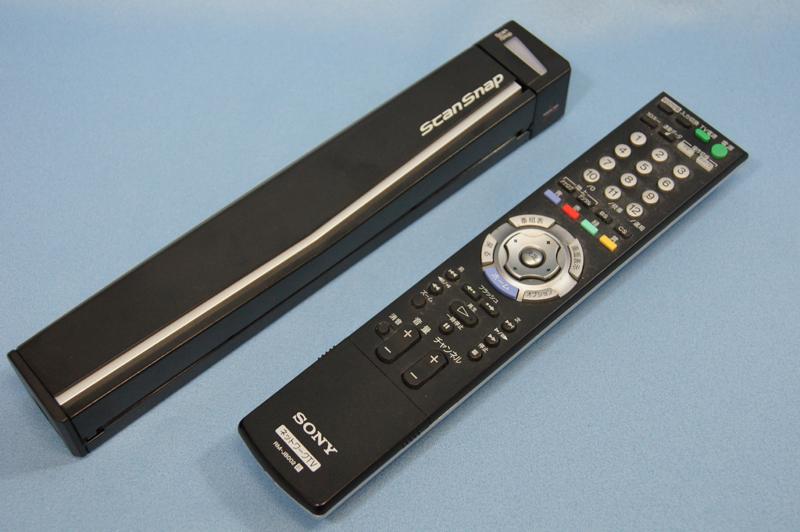 手元にあったテレビのリモコンとほぼ同じサイズ