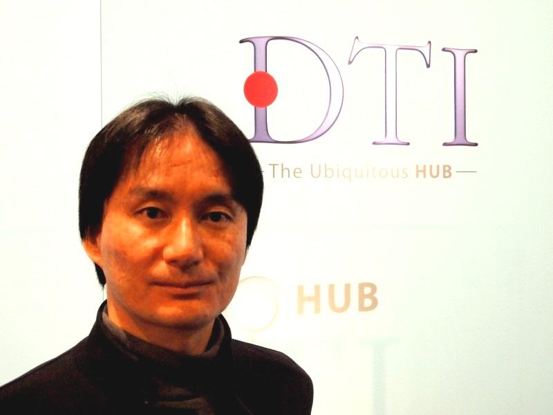 DTIの石田宏樹代表取締役社長