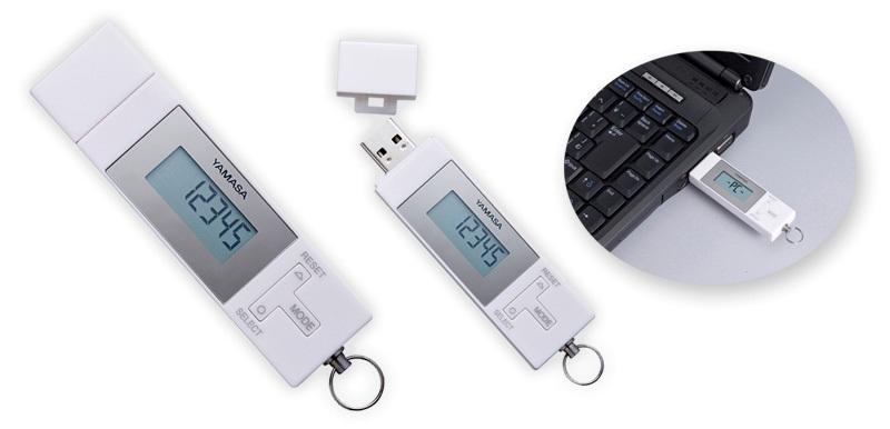山佐時計計器の「anemos(ポケット万歩 EX-800)」