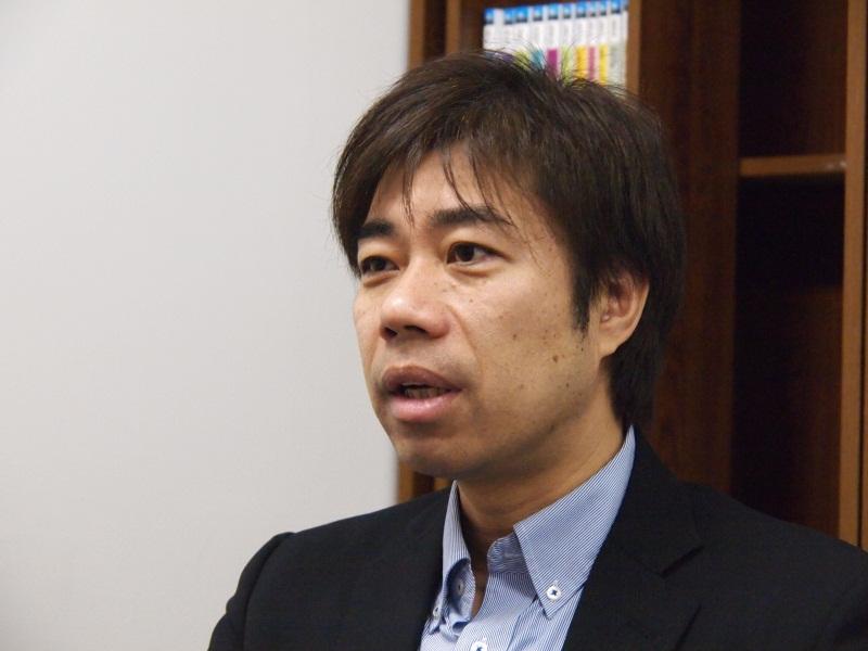 BOOK☆WALKER事業本部本部長の安本洋一常務取締役