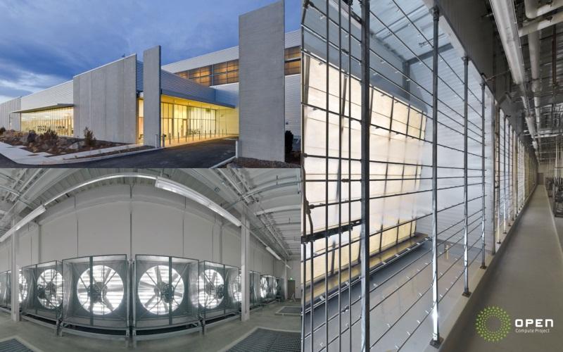 Facebookがオレゴン州プラインビルに建設したデータセンター。外気冷却や蒸発冷却システムなどを導入