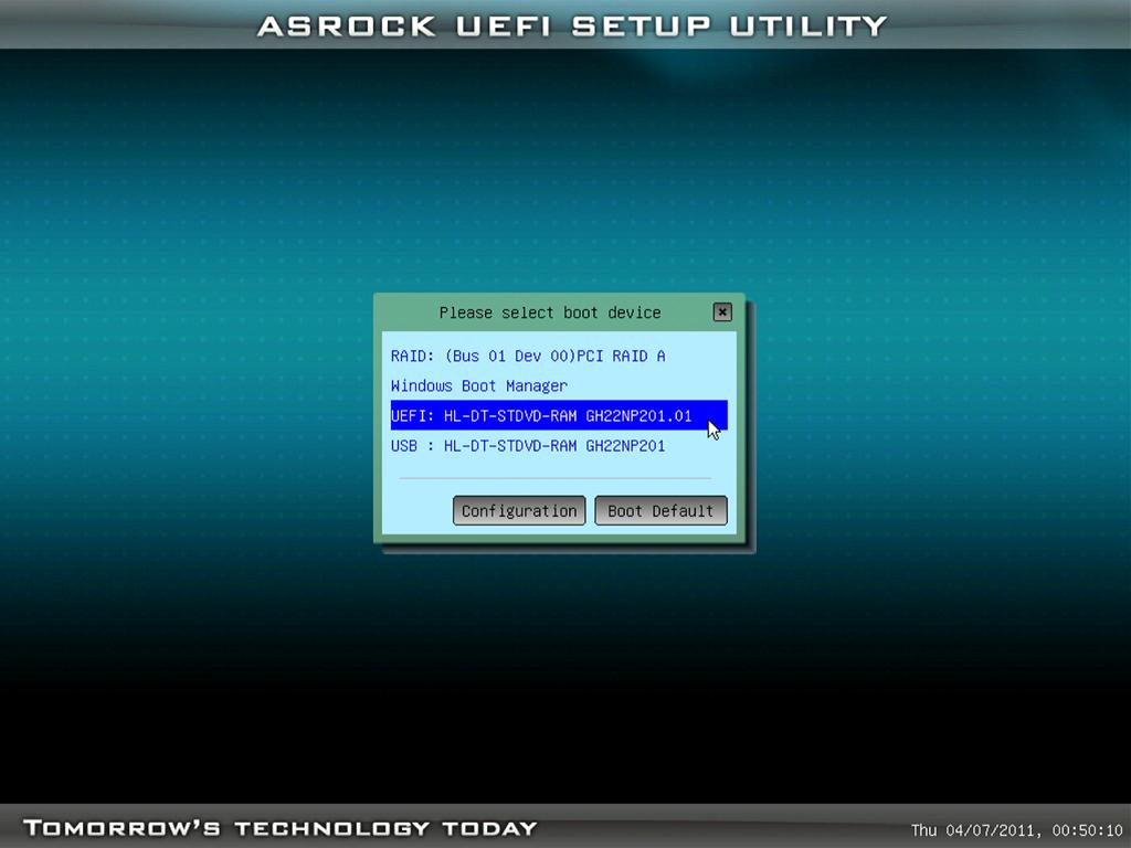 UEFI起動でインストールすることで2TB以上のパーティションにインストール可能