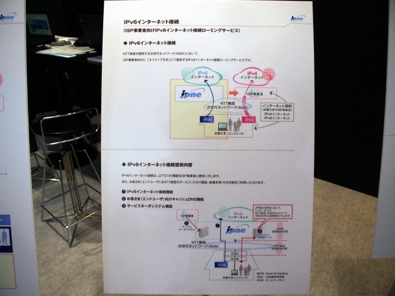 JPNEは、フレッツ 光ネクストの「ネイティブ方式」によるIPv6接続サービスをISP各社にローミングで提供する