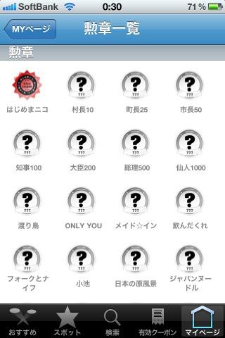 取得した勲章の一覧リスト