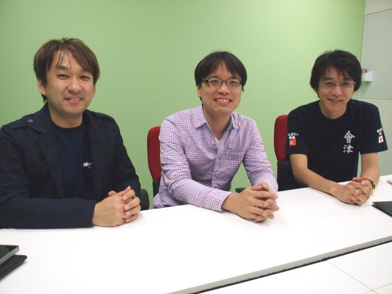 (左から)日本マイクロソフトの西脇資哲氏、株式会社リクルートの川崎有亮氏、グーグル株式会社の及川卓也氏