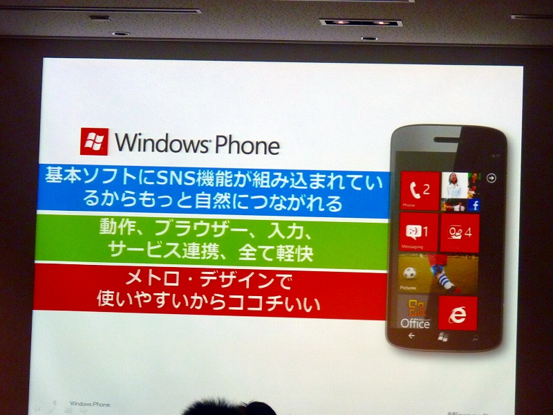 WindowsPhone7.5で出来ること 主要三点