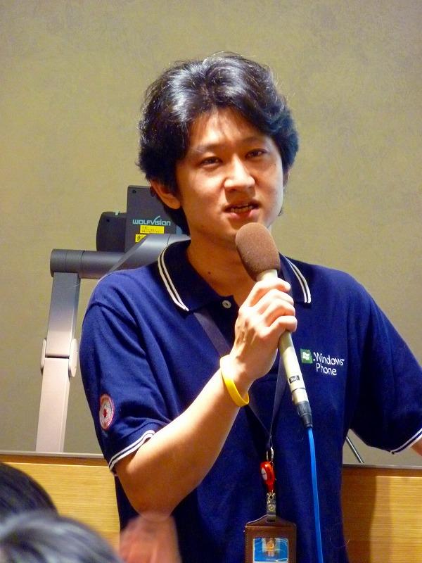 日本マイクロソフト デベロッパー&プラットフォーム統括本部 UX&クライアントテクノロジー推進部 デベロッパーエバンジェリスト 高橋忍 氏