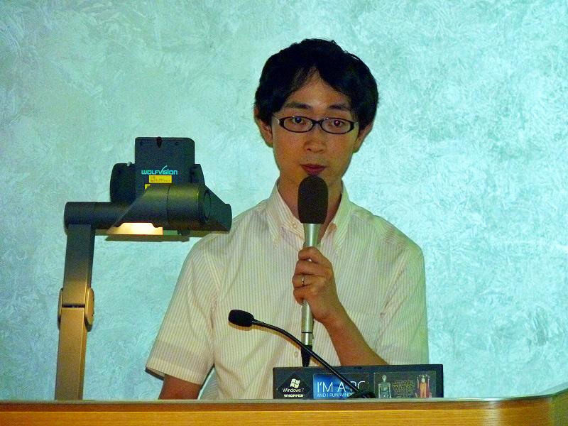 先行ユーザーとして感想を披露したジャーナリストのイケダハヤト氏