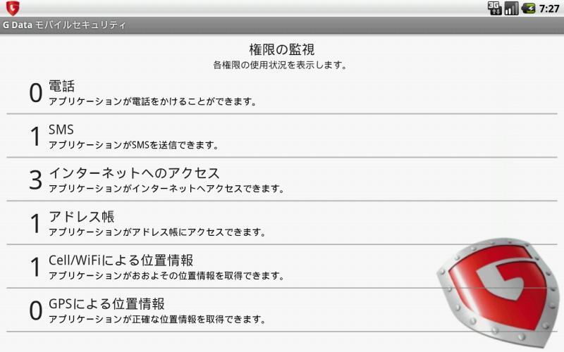 「アプリ監視」機能