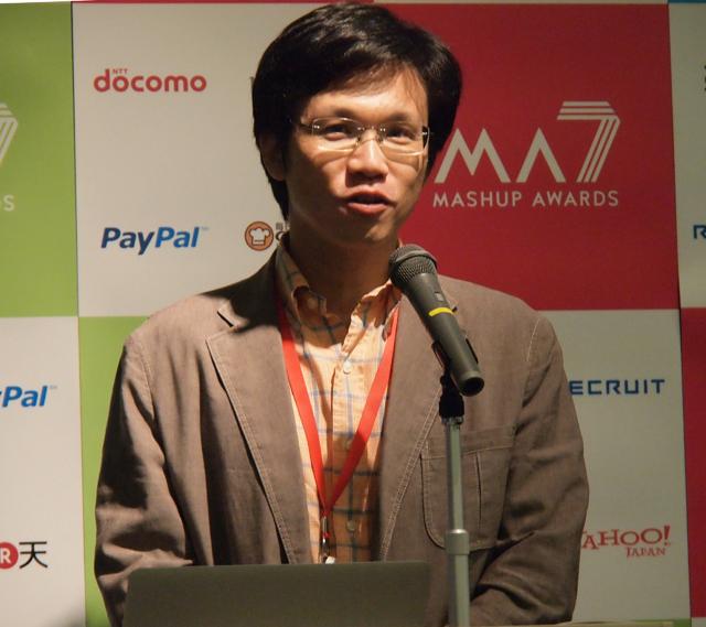 MA6を受賞してアプリケーションの知名度がさらに上がったという、「育児日記 EmiriSystem」でMA6最優秀賞を受賞した上田哲郎氏