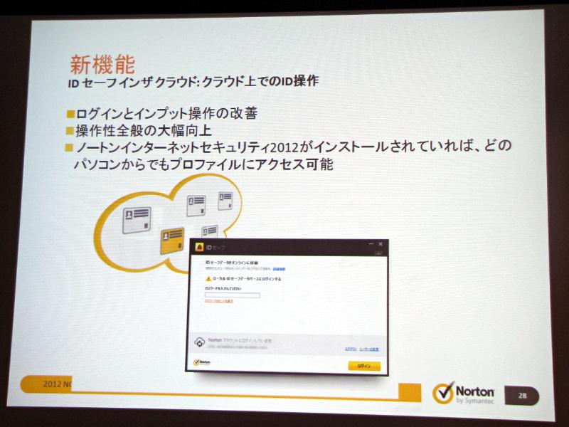 ユーザーIDやパスワードをクラウド上で管理する「IDセーフインザクラウド」