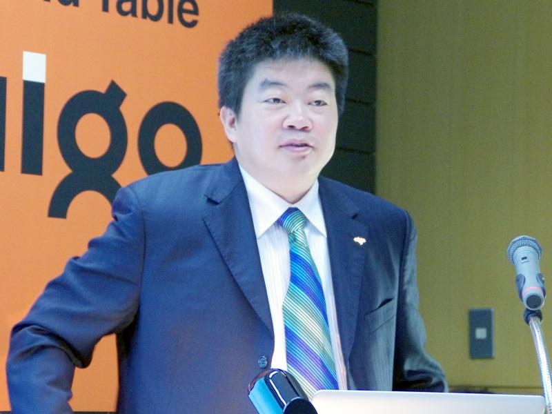 Aigo代表のFeng Jun氏