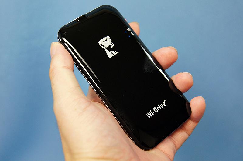 Kingston Technologyの無線ポータブルストレージ「Wi-Drive」