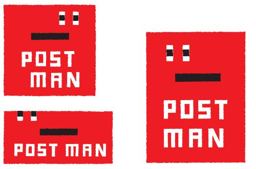 「Postman」のシンボルキャラクター