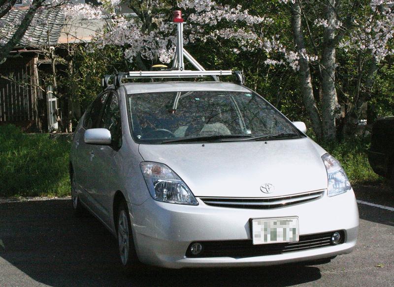 ストリートビューの撮影車(写真は日本で使われていた車両)