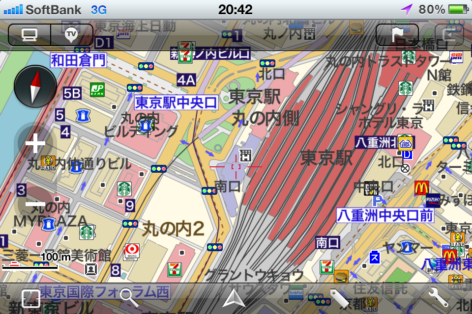 MapFan for iPhone Ver.1.5(iPhone)