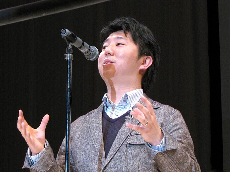 Mashup Awards 7実行委員会委員長の羽野仁彦氏