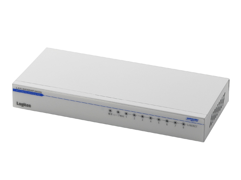 LAN-GSW08P/HGW