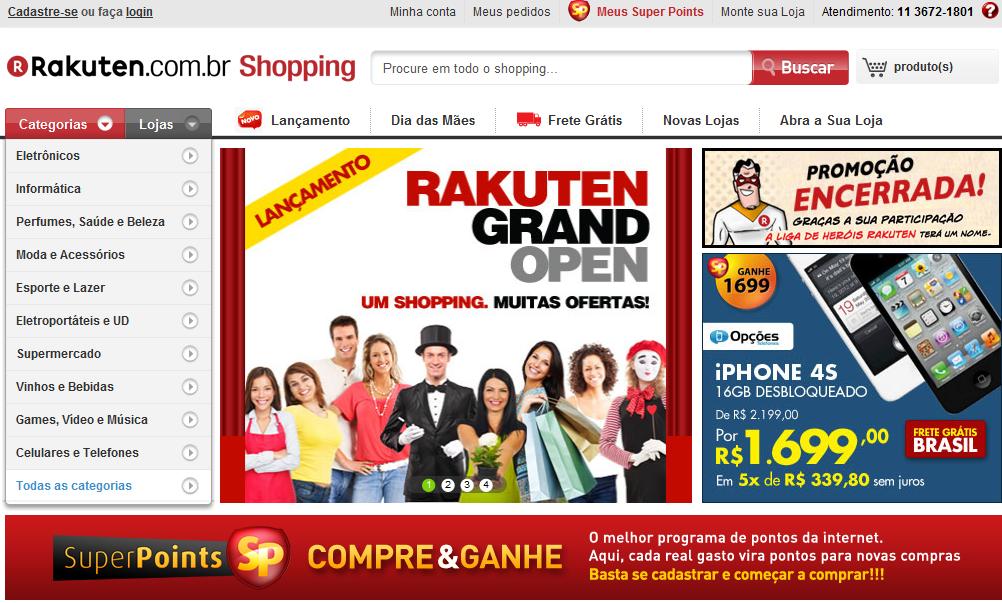 Rakuten.com.br Shopping