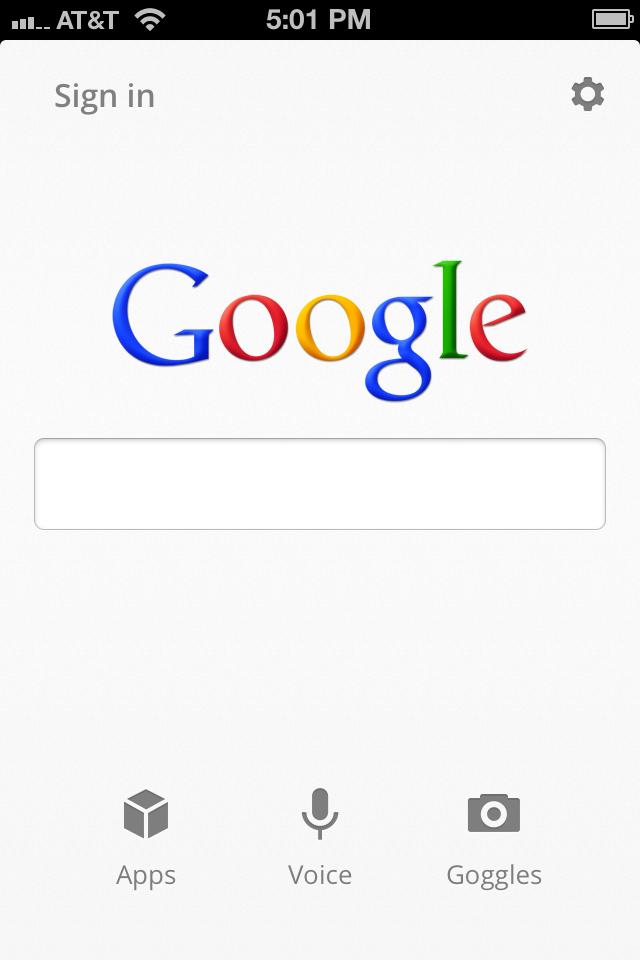 iOS版「Google検索アプリ」バージョン2.0(Google公式ブログより画像転載)