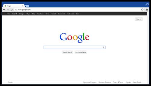 Chromium公式ブログに掲載されたスクリーンショット