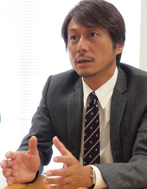 株式会社U-NEXT 代表取締役社長宇野康秀氏