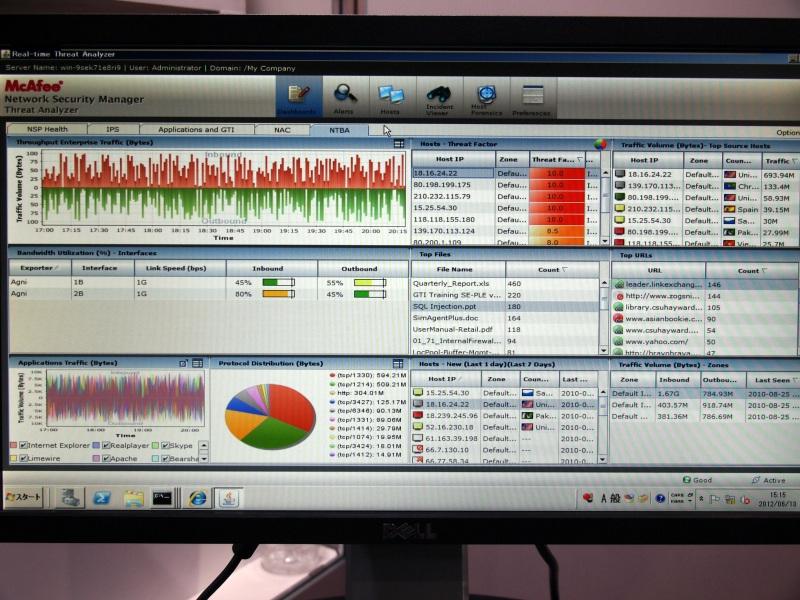 McAfee Network Threat Behavior Analysis