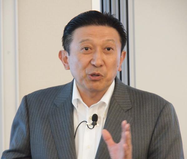 トレンドマイクロ株式会社 取締役副社長 大三川 彰彦氏