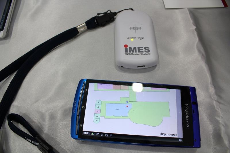 IMES受信機とAndroidスマートフォン