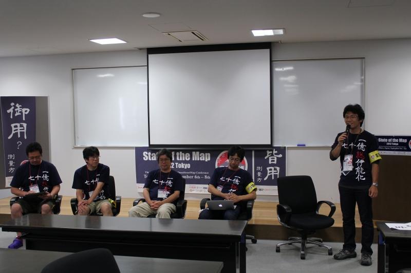 日本各地のコミュニティによるパネルディスカッション