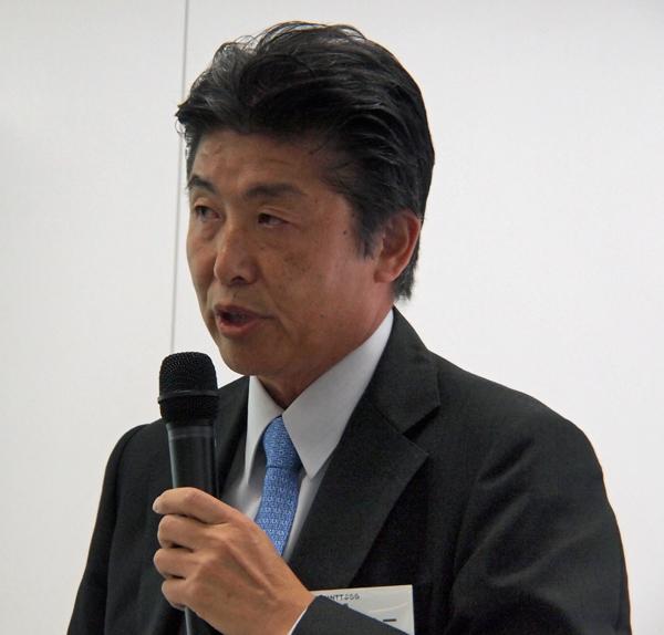 株式会社NTTぷらら 代表取締役社長 坂東浩二氏