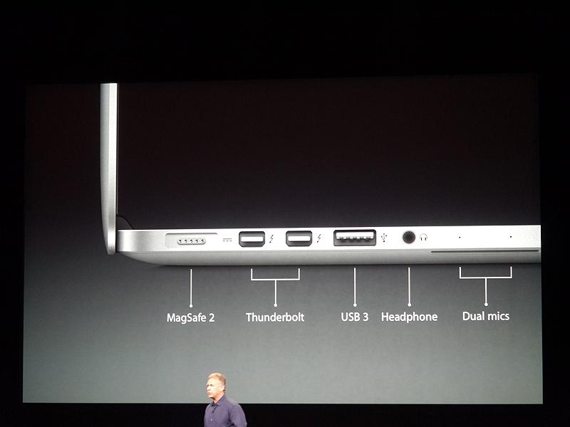 左右の側面には各種インターフェースを搭載